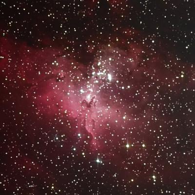Dettaglio Nebulosa Aquila