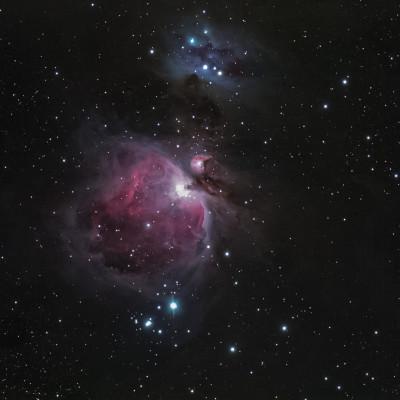Nebulosa di Orione e Running Man