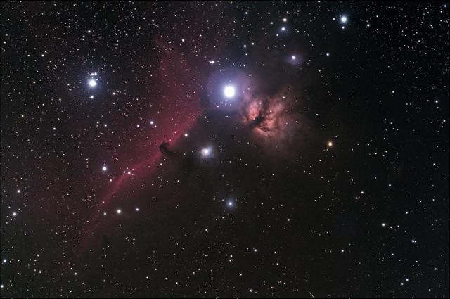 Horse Nebula e Nebulosa Fiamma