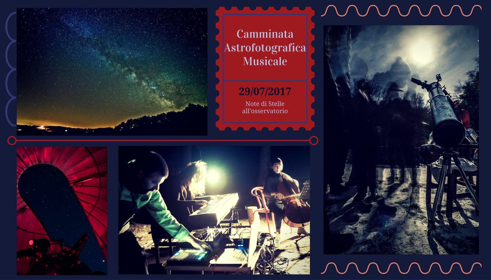 camminate astrofotografiche